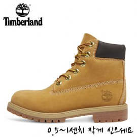 [TIMBERLAND]팀버랜드 여성 워커/부츠 JUNIOR WOMEN'S 6IN PREMUM 12909 WHEAT/NUBUC