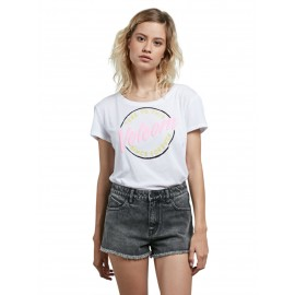 [VOLCOM] 볼컴 우먼스 반팔티 EASY BABE RAD 2 TEE (WHITE)