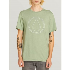 [VOLCOM] 볼컴 반팔티셔츠 PIN STONE SHORT SLEEVE TEE (DUSTY GREEN)