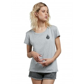 VOLCOM] 볼컴 우먼스 반팔티 EASY BABE RAD 2 TEE (HEATHER GREY)