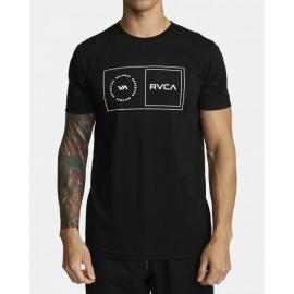 [RVCA] SPORT BALANCE BOX SS BLK 스포츠 밸런스 박스 티셔츠 블랙