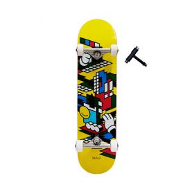 스케이트 보드 7.75 Grafflex Art Complete(완성형)