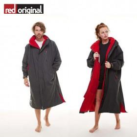 서핑 방한 판초 RED ORIGINAL Change Jacket Long Sleeve - GREY(25일예약발송)
