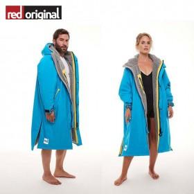 서핑 방한 판초 RED ORIGINAL Change Jacket Long Sleeve - HAWIAN BLUE
