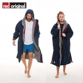 서핑 방한 판초 RED ORIGINAL Change Jacket Long Sleeve - NAVY(25일 발송)